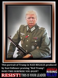 We have a #Nazi in the #WhiteHouse.