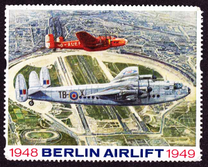 In 1948-1949 we mounted the Berlin Airlift. In 11 months over 300,000 flights were made, 3000 tons food, equipment dropped every day. A plane landed or took off every 30 seconds. 80 years ago, after the depletion of World War 2, we successfully broke the Soviet blockade. We recognized we had the humanitarian obligation to feed, shelter, care for the innocents.