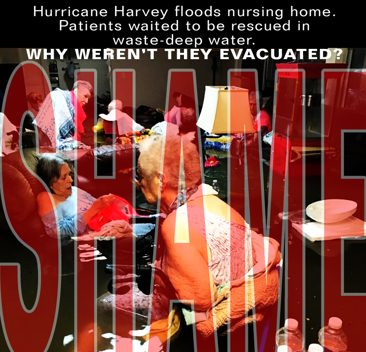 General Honore warned heavy flash flooding would follow Hurricane. The General wanted the elderly, hospitals, low-lying areas be evacuated before the storm. Texas authorities Gov Scott Abbott declined to inconvenience the baseball game scheduled later that week.
