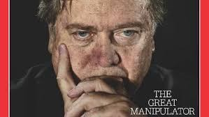 Steve Bannon. Breitbart News, former Senior White House Advisor to President Trump.