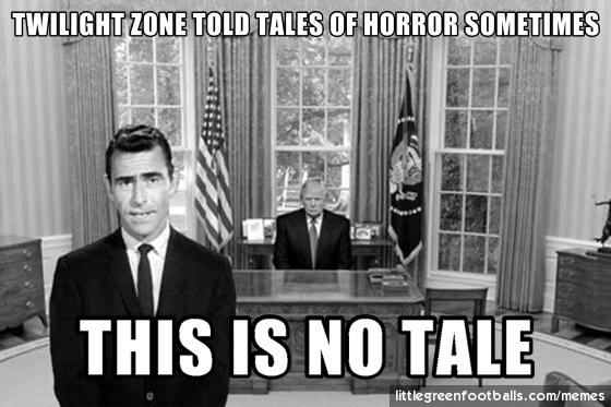 This is no Twilight Zone, Rod Serling in Oval Office