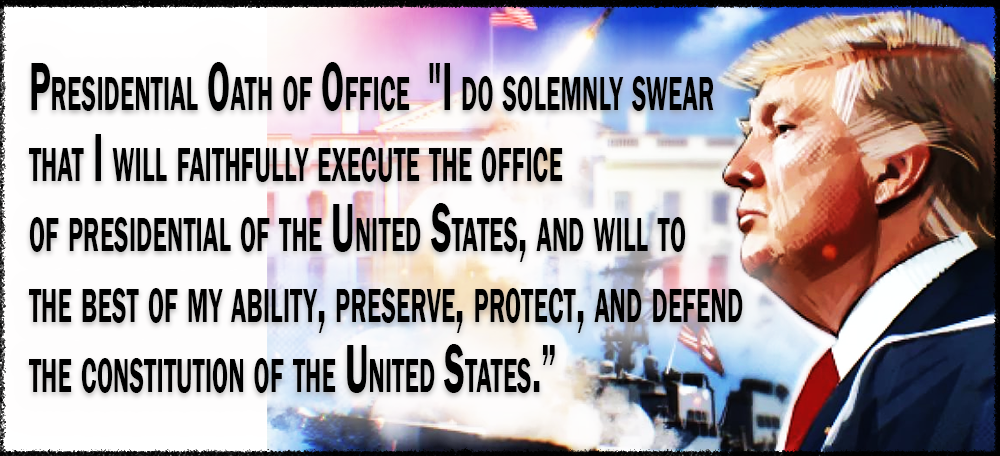 America Rising BLUE: United States Presidential Oath of Office